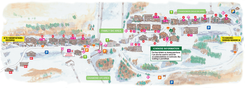 CAFE & RESTRANT MAP